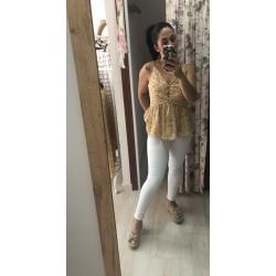pantalon/jeans blanco