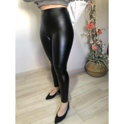 Leggings de cuero