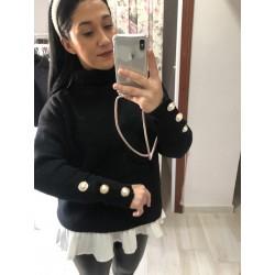 Jersey perlas negro